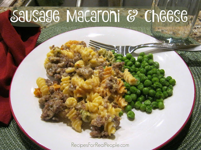 Enjoy Sausage Macaroni and Cheese January 20th for Cheese Lover's Day, July 14th for Mac & Cheese Day, or any day of the year!