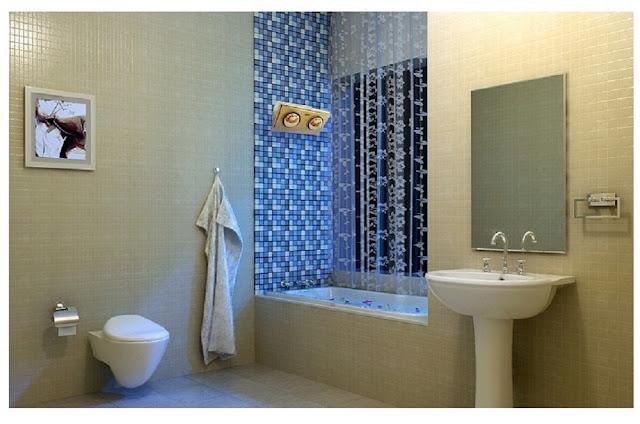 Đèn sưởi phòng tắm Hà Giang - người bạn của gia đình