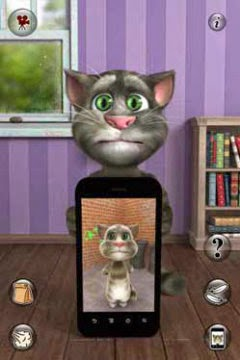 Talking tom cat cho java