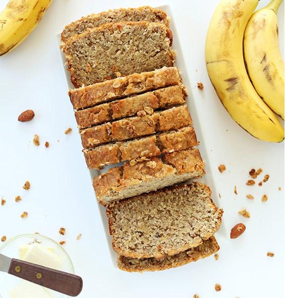 One Bowl Gluten-free Banana Bread