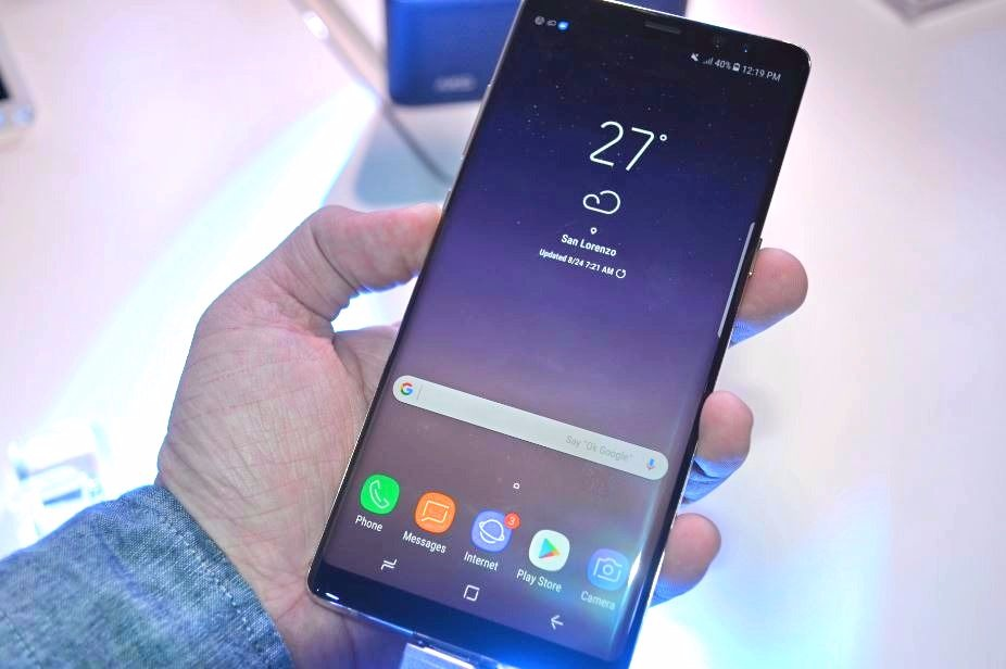Samsung launches Galaxy Note 8 in the Philippines