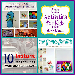 Car Activities for Kids on Mom's Library