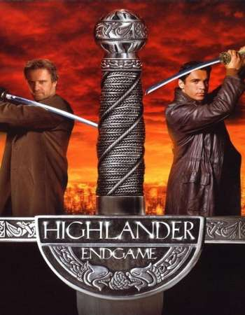 Poster Of Highlander: Endgame 2000 Dual Audio 720p BRRip [Hindi - English] ESubs Free Download Watch Online downloadhub.in