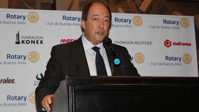 El Dr. Luis Ovsejevich asumió la presidencia del Rotary Club de Buenos Aires
