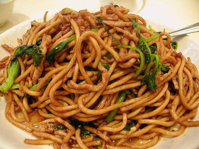 Chinese Shanghai Fried Noodles | China Recipes