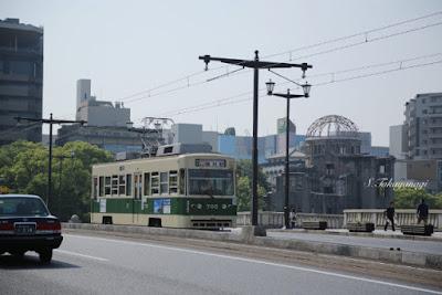広電と原爆ドーム
