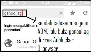 Cara Menghilangkan Iklan di Ganool