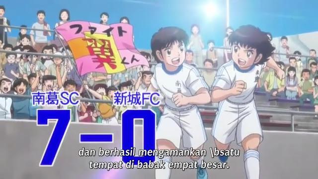 Captain Tsubasa 2018 Episode 18 Subtitle Indonesia