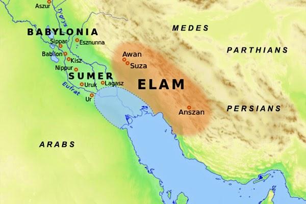 Elam, Antiga Região da Pérsia