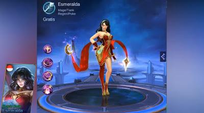 Skin Normal Asmeralda Ruddy Dusk Mobile Legends: Bang Bang Terbaru 2019
