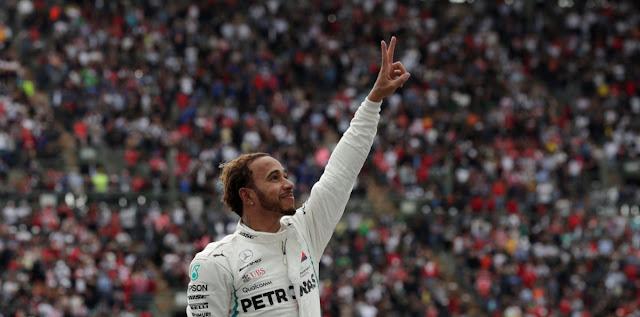 Hamilton se corona como campeón de la F1 en el GP de México (Video)