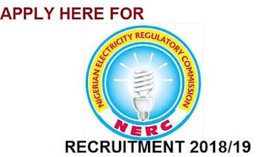2018 Nigerian Electricity Regulatory Commission Recruitment - Application portal