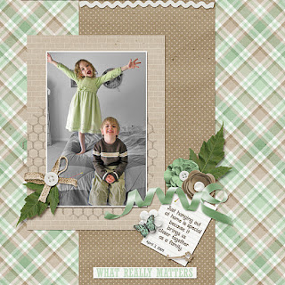 Ginger Scraps A Year of Blessings! September 2017 Challenge  and Freebie Mini Kit