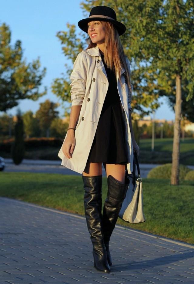 Espectaculares botas | Moda sobre las rodillas