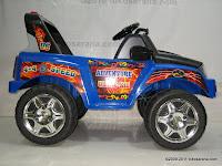 3 Mobil Mainan Aki Pliko PK9128N Adventure dengan 2 Dinamo Motor