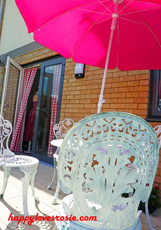 Happy New Home - Salvage garden furniture