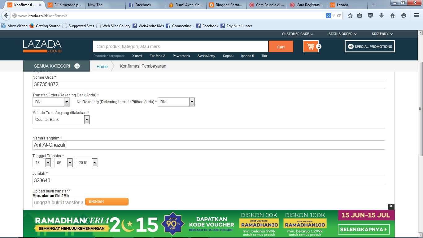 Lazada Indonesia - Belanja Online di Lazada | Bersama Kita