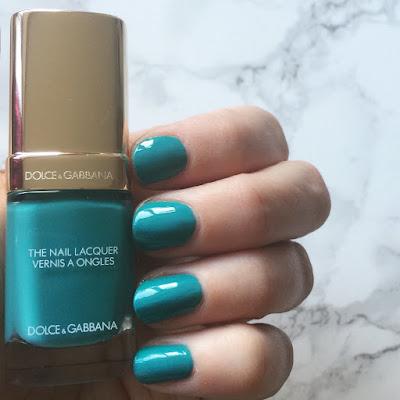 Dolce+Gabbana-SummerinItaly-Turquoise-NailPolish-Swatch