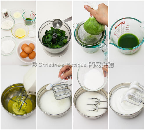 How To Make Pandan Wrapped Cakes01