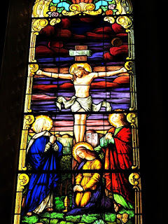Vitral Catedral de Santa Maria (RS) - Jesus Cristo Crucificado