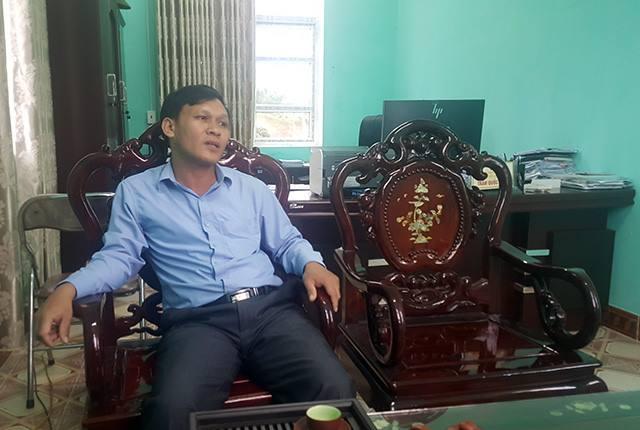 Ông Trần Quốc Toản, Bí thư Đảng ủy xã Đường Hoa