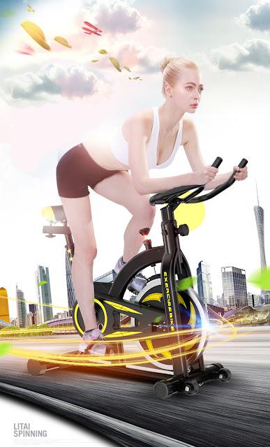 Xe đạp tập dạng truyền thống