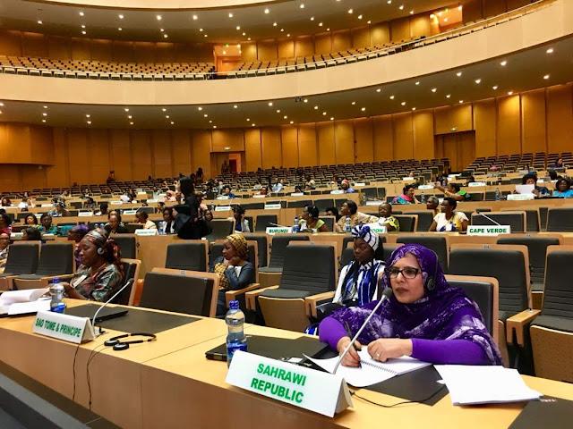 الجمهورية الصحراوية تشارك في الاجتماع الثاني لشبكة القيادات النسائية الافريقية.