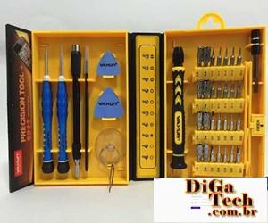 Kit principais ferramentas manutenção notebook
