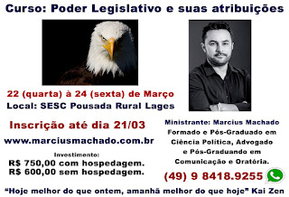 curso Lages - Marcius Machado - Ciência Política - unipublica - curso poder publico