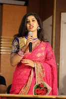 Lavanya in Red Saree at With Love Boys Movie First Look Launch 5th May 2017  Exclusive 022.JPG