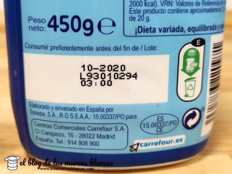 Fabricante de la leche condensada Carrefour en el blog de las marcas blancas.