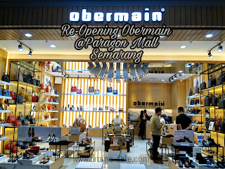 Re-Opening Gerai Obermain Paragon Mall Semarang.
