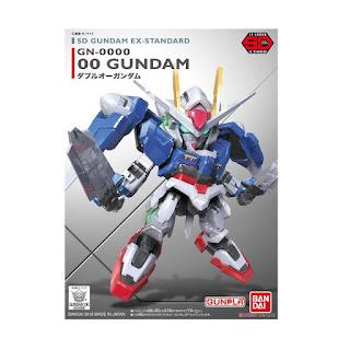 Bandai SD Gundam EX-Standard 00 Model Kit