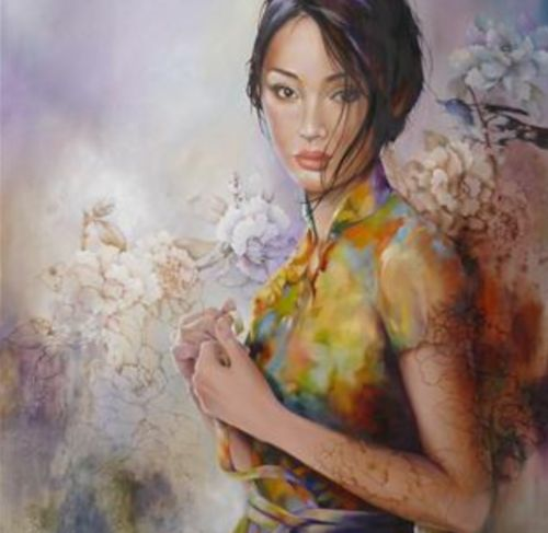 Wendy Ng | pintor abstracto chino