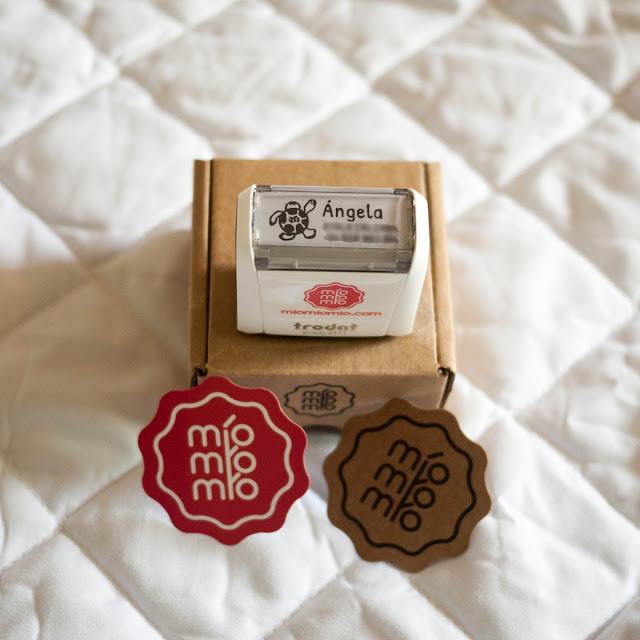 Sello para textil y papel de míomíomío