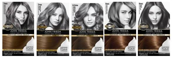 Light Frieda Copper John Brown Color Hair