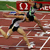 Cara Memasuki Garis Finish Pada Lari Jarak Pendek (Sprint)