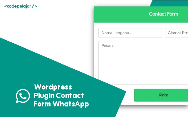 Plugin Contact Form WhatsApp [Wordpress]