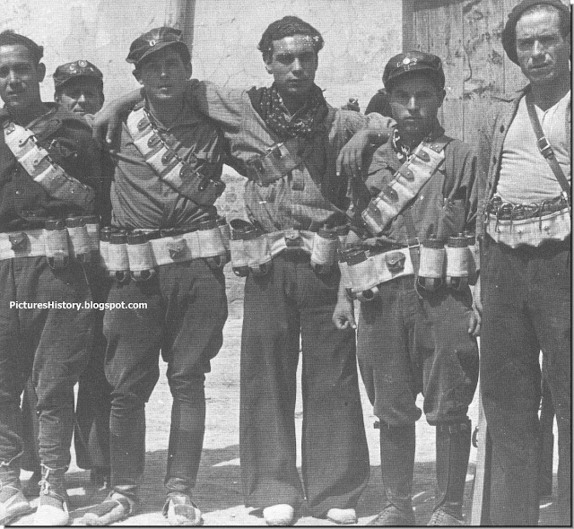 Franco soldiers spanish civil war
