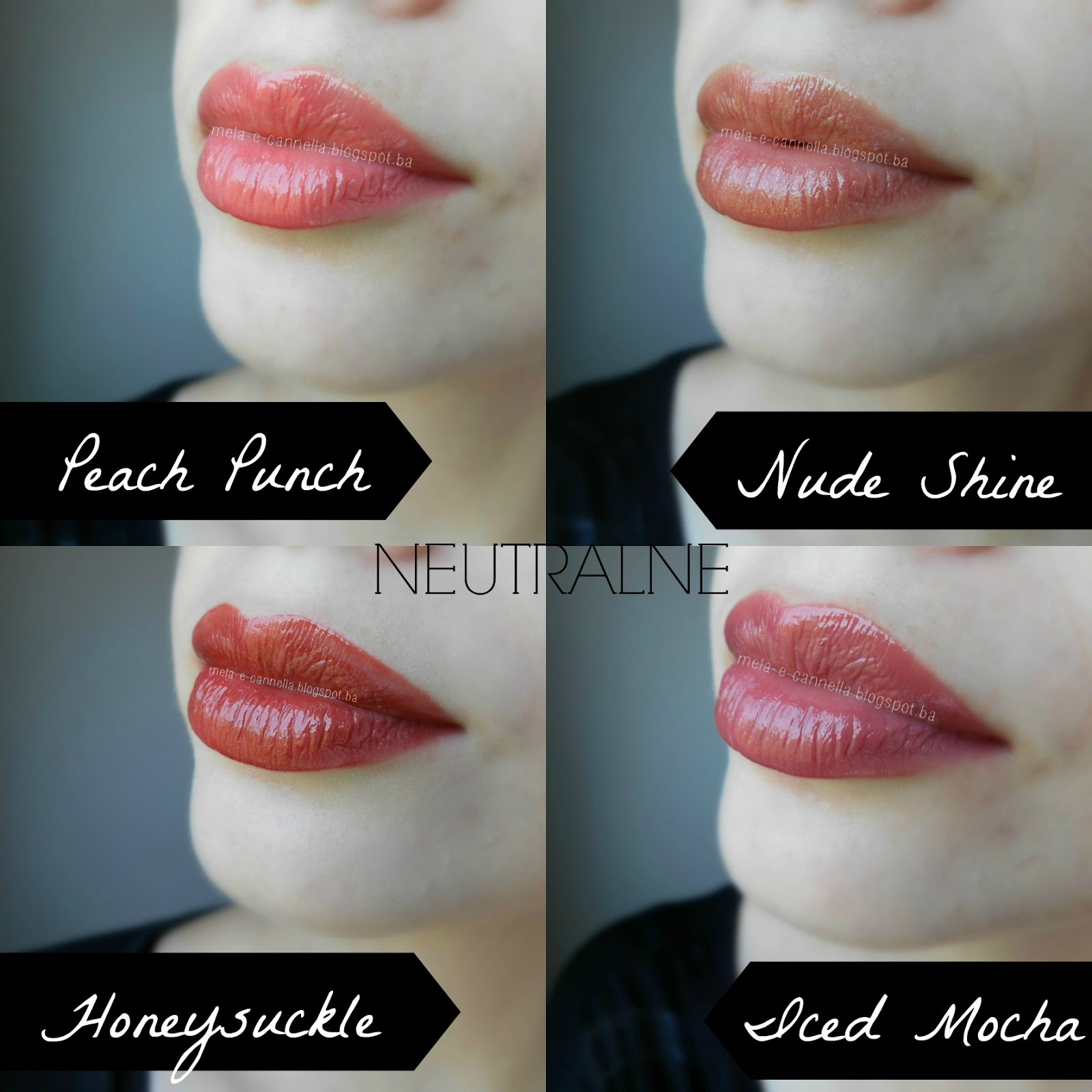 Mela E Cannella Avon Shine Burst Lipstick Iced Mocha