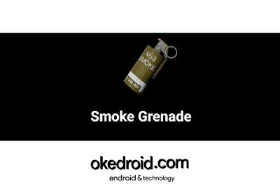 Fungsi dan Kegunaan Smoke Grenade (Bomb Asap) di Game PUBG Mobile