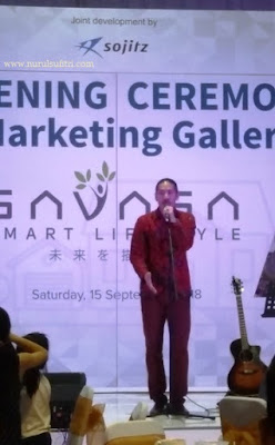 penyanyi hiroaki kato asal jepang savasa smart lifestyle opening ceremony marketing gallery deltamas nurul sufitri blogger sinar mas land panasonic sojitz