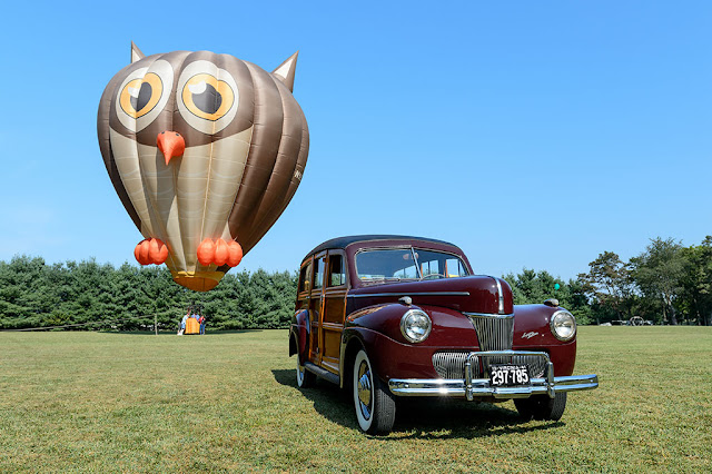 Owl and the Pussycat hot air balloon at White Post Restorations