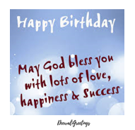 Best birthday wishes