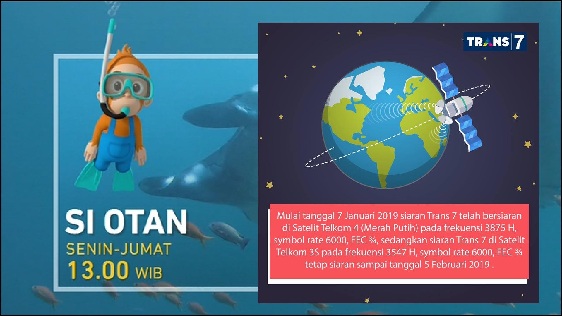 Trans7 Pindah Satelit dari Telkom 3S ke Telkom 4