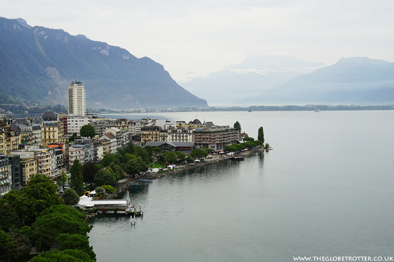 View from Montreux Eurotel Hotel