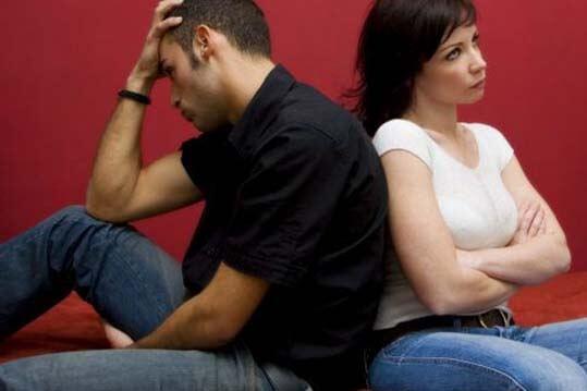 Pareja que no sabe cuando terminar una relación
