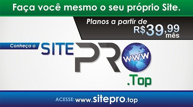 Lançamento: Conheça o mais Novo Editor de Sites o SitePRO.Top