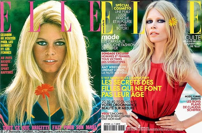 fashion beauty brigitte bardot 1967 claudia schiffer 2011. Black Bedroom Furniture Sets. Home Design Ideas