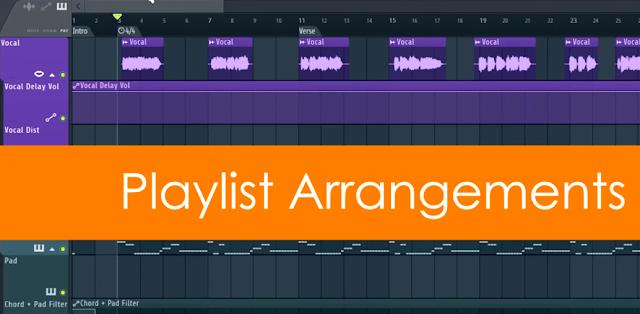 Cara menambah playlist baru dalam 1 project